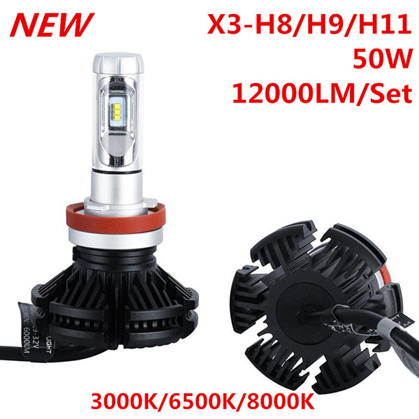 X3 40W LED Headlight Kit