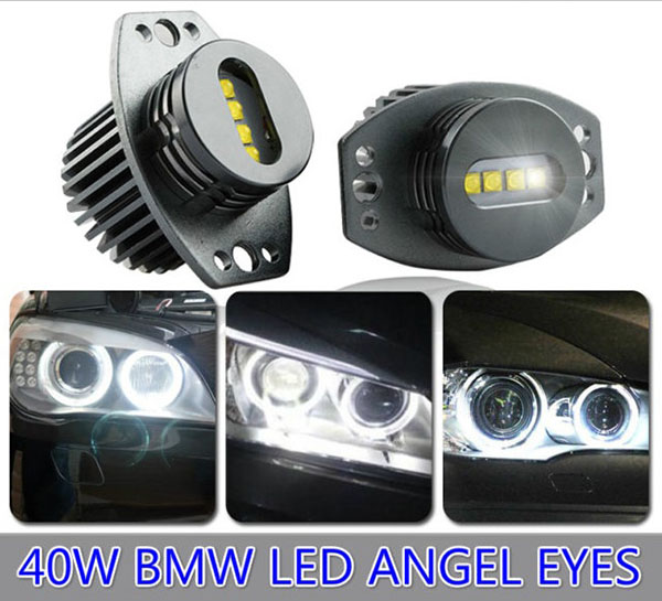 E90 40W BMW Angle Eye Replacement White Cree LED