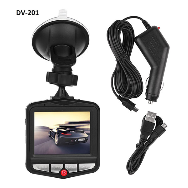 Dashboard Camera with 2.4 Inch LCD Screen