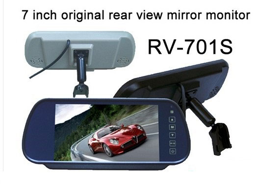 "7"" Original Rear-view Mirror Monitor"
