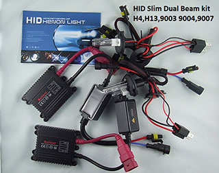 35W Dual Beam Slim HID xenon Kit